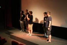 Vorstellung vor dem Film